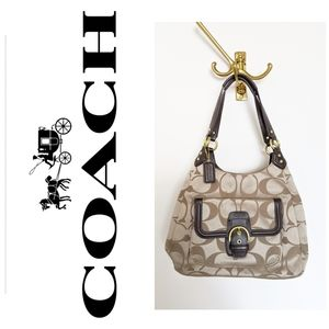Coach authentic campbell hobo bag